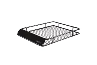 Giantz Universal Roof Rack Basket Car Luggage Carrier Steel Vehicle Cargo 123cm