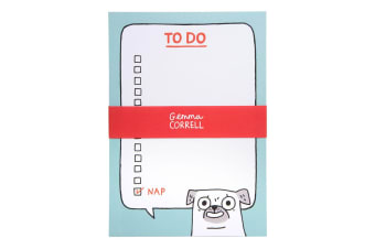 Ohh Deer Pug To Do A5 Notepad (Multicoloured)
