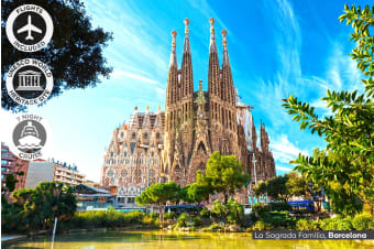 Europe: 14 Day Spain & Mediterranean Cruise Including Flights for Two