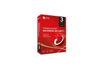 Trend Micro Maximum Security 1 To 3 Devices