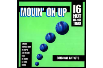 Various ‎– Movin' On Up - 16 Hot Dance Trax PRE-OWNED CD: DISC EXCELLENT