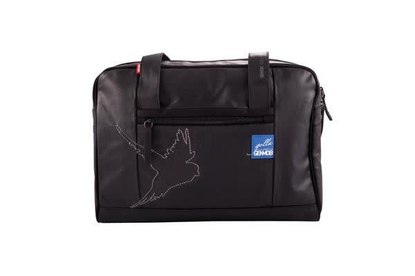 """Golla Luna Style Carry Bag for 16"""" Laptop/Notebook - Black 2 compartments inside for storing laptop"""
