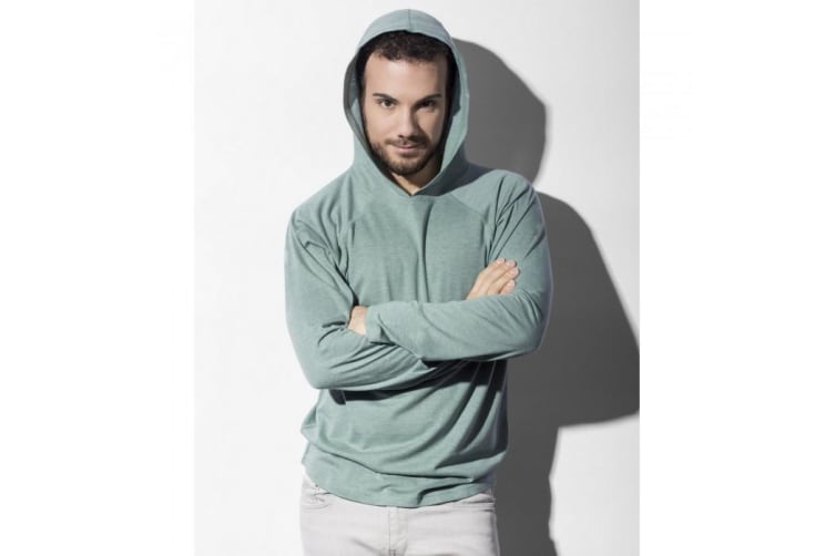 Nakedshirt Unisex Cecil Hoodie (Double Dyed Flame) (L)