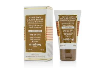 Sisley Super Soin Solaire Tinted Youth Protector SPF 30 UVA PA+++ - #4 Deep Amber 40ml/1.3oz
