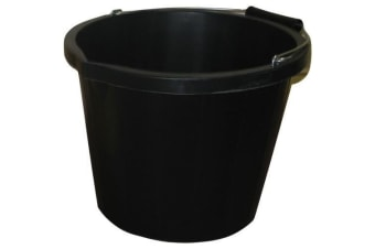 ProStable Water Bucket (Black) (3 Gallons)