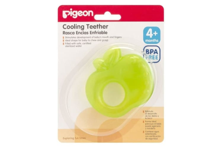 Pigeon Cooling Baby/Infant/Kids Teether/Teething/Candy Toy Green Apple BPA Free