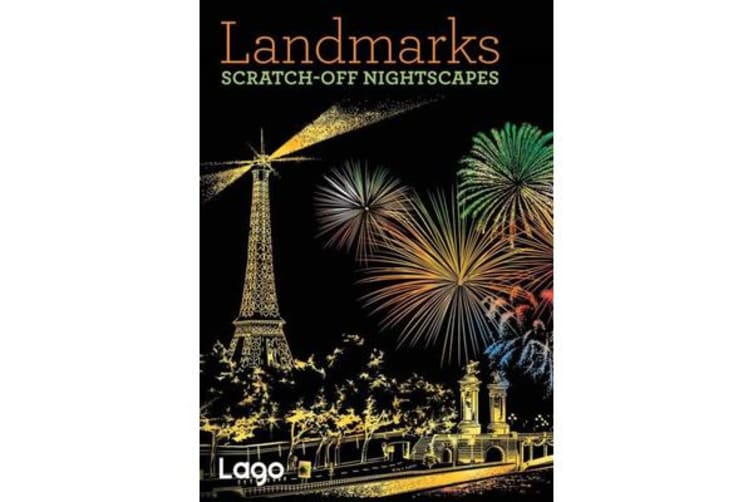 Landmarks: Scratch-Off NightScapes - Scratch-Off NightScapes