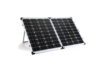 G&P 12V 200W Folding Portable Mono Solar Panel Kit Caravan Camping Power USB