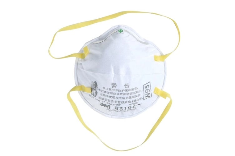 3M 8210 KN95 Cupped Paticulate N95 Respirator Mask (20 Pack)