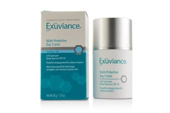 Exuviance Multi-Protective Day Creme SPF 20 - For Sensitive/ Dry Skin (Box Slightly Damaged) 50g/1.75oz
