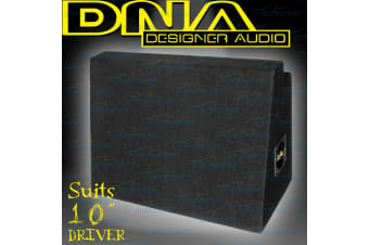 "Dna Sealed 10"" Or 12"" Slim Line Subwoofer Sub Box Enclosure New Car Boot Asc003A"