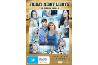 Friday Night Lights Series 2 DVD Region 4