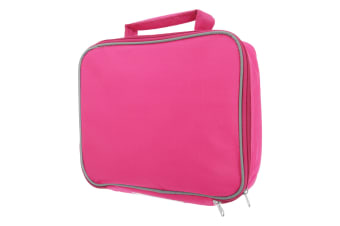 Mucky Fingers Kids Insulated School Lunch Bag (Fuchsia)