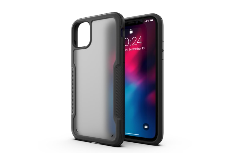 MAXSHIELD Slim Clear Heavy Duty ShockProof Case for iPhone 11 Pro Max-Matte