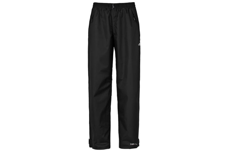Trespass Mens Corvo Waterproof & Windproof Trousers (Black) (XXL)