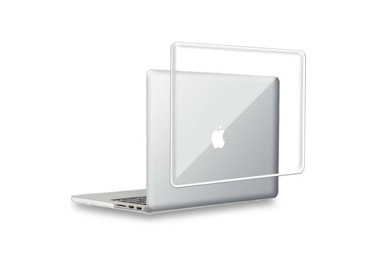 """Hard Case Cover for Apple Macbook Pro 13"""" Inch A1708-Matte Clear-Glossy Clear"""