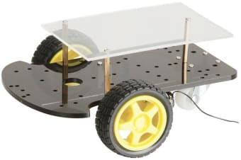 Educational 2 Wheel Drive Motor Chassis Robotics Kit