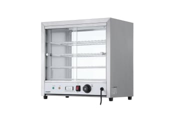Commercial Food Warmer Pie Hot Display Showcase Cabinet Container