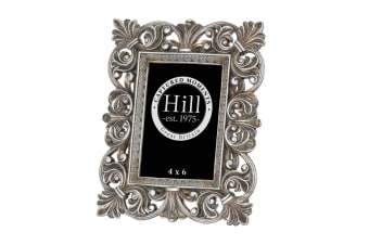 Hill Interiors Antique Silver Fleur De Lis Decorative Frame (Silver)