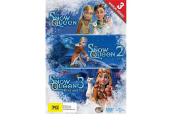 The Snow Queen / The Snow Queen 2 / The Snow Queen 3 Fire and Ice DVD Region 4