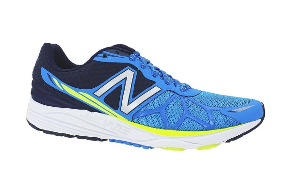 New Balance Men's Vazee Pace Running Shoes (Blue/Yellow, Size 10.5)