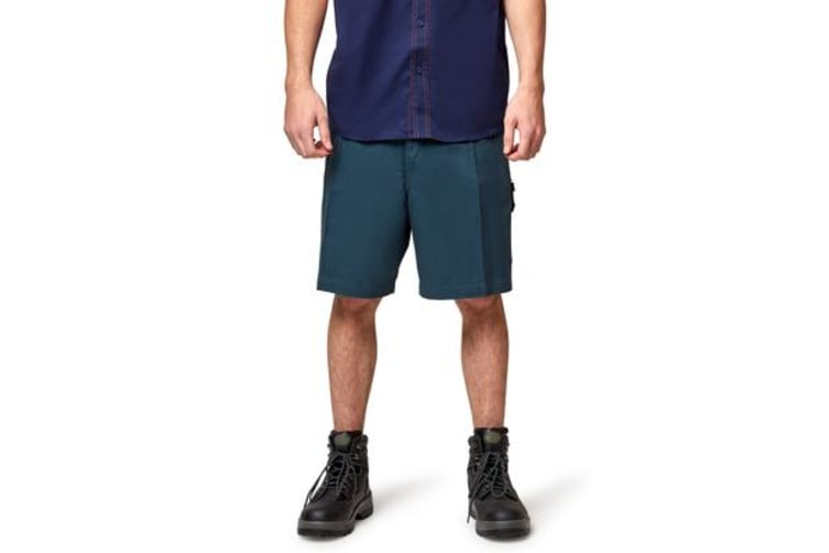 King Gee Workers Short (Green, Size 127S)