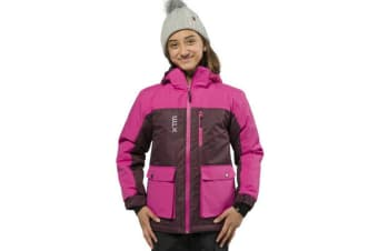 XTM Kid Unisex Snow Jackets Kamikaze Youth Jacket Shiraz Denim - 16
