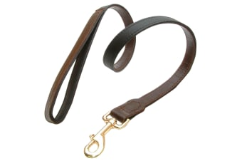Vital Pet Products Yacare Leather Dog Lead (Brown)