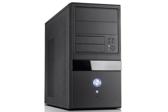 Aywun 204 mATX Business Corporate Case with 500w PSU 24PIN ATX, 1x USB3+1x USB2 HD Audio. 2 Yrs Warranty