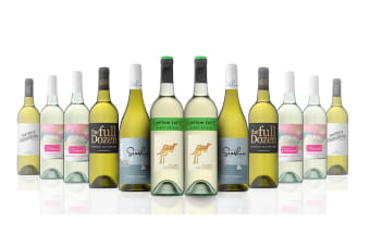 Australian Mixed White Wine Carton Featuring Yellowtail Pinot  Grigio (12 Bottles)