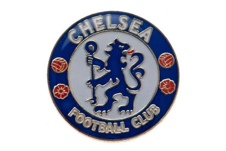 Chelsea FC Badge (Blue) (One Size)