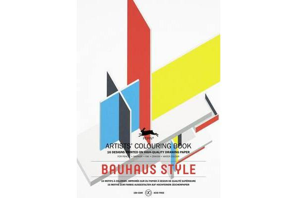 Bauhaus Style - Artists' Colouring Book