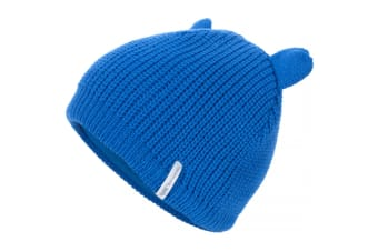 Trespass Childrens/Kids Toot Knitted Winter Beanie Hat (Cobalt)