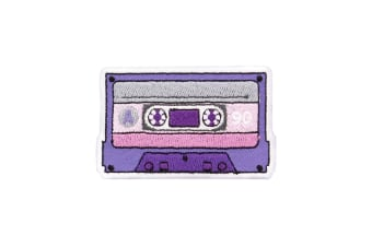 Grindstore Cassette Tape Patch (Purple) (One Size)
