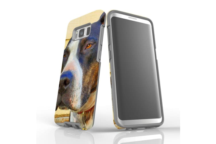 For Samsung Galaxy S8 Case Armour Cover  Sceptical Staffy