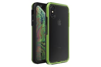 Lifeproof iPhone X/XS SLAM Case Dropproof Cover for Apple - Black & Lime Night Flash