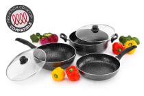 Stone Coated Non-stick Cookware (3 Piece Set)