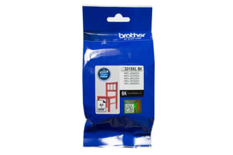 Brother Ink Cartridge LC3319XLBK  - Black- Inkjet - High Yield 3000 Pages