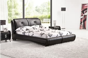 Grande Bed Frame (Queen/Black)