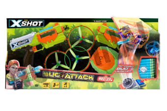 Zuru XSHOT Bug Attack Flying Bugs Double Pack