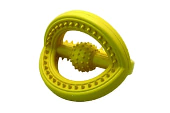 Happy Pet Frame Ball For Dogs (Yellow)
