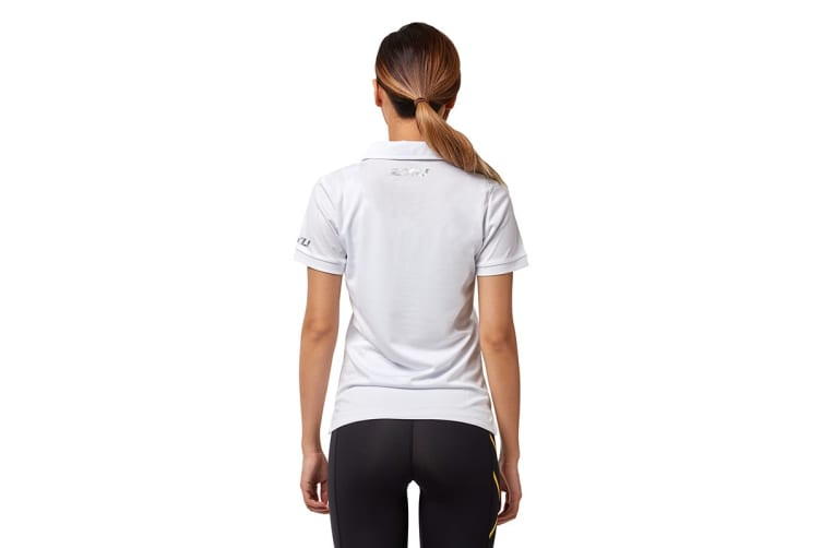 2XU Women's Performance Polo (White/White, Size XS)