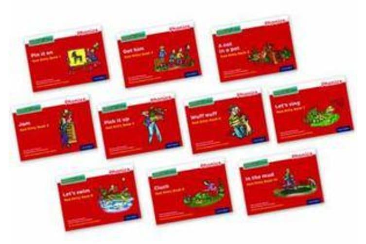 Read Write Inc. Phonics - Red Ditty Books Mixed Pack of 10