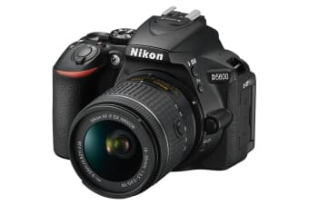 Nikon D5600 DSLR Camera +18-55mm f/3.5-5.6G VR lens kit
