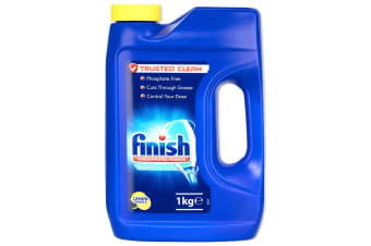 Finish 1Kg Concentrated Powder Classic Lemon Sparkle