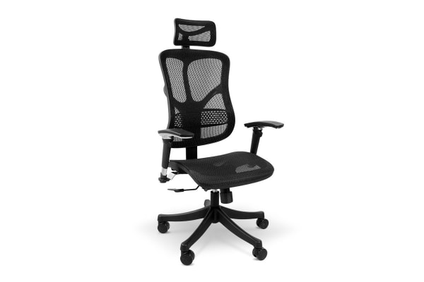 ovela ergonomic mesh office chair - kogan