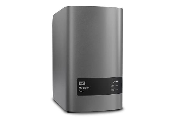 WD My Book Duo 12TB Dual-Drive, High-Speed Premium RAID Storage (WDBLWE0120JCH-SESN)