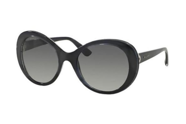 Bvlgari BV8159BQ 100211 55 Dark Blue Womens Sunglasses