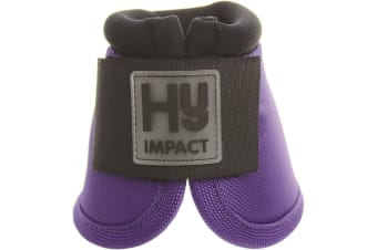 HyIMPACT Pro Over Reach Boots (One Pair) (Purple) (XL)