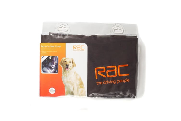 RAC Front Seat Car Pet Cover (Black) (One Size)